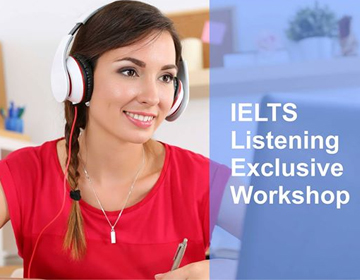 IELTS Exclusive Workshop – Essay Writing