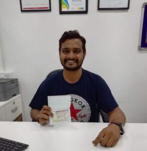 Congratulations Rahul Thakur for Canada Student Visa -Trent University