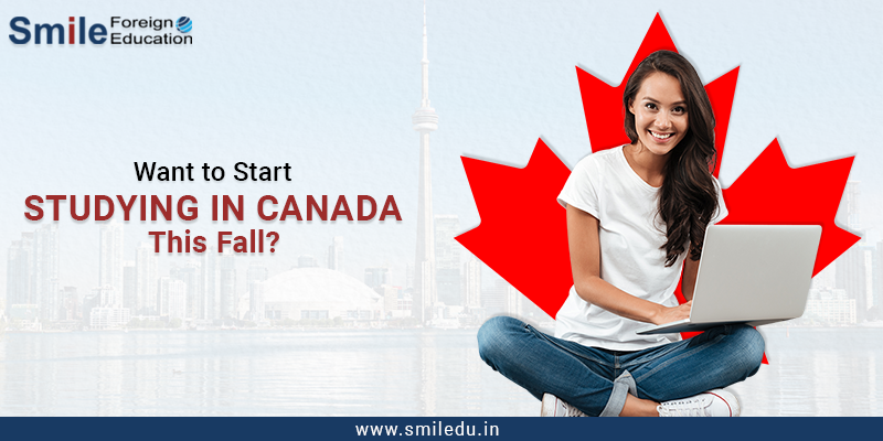 Want to Start Studying in Canada This Fall? Submit Your Study Permit Application In The Next 15 Days